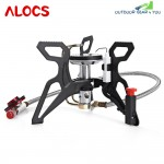 ALOCS CS - G22 Durable Gas Furnace Stove Outdoor Camping Tools