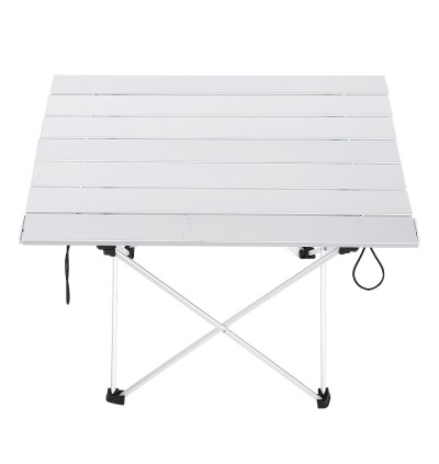 Aluminum Alloy Table Foldable Desk Outdoor Camping Accessory