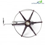 Stainless Steel Wire Cage Hand Gear Eight Trigram Fishing Reel Wheel Fish Anchor Accessory