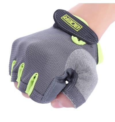 BOER Paired Fitness Sport Gym Exercise Weightlifting Women Half Finger Gloves
