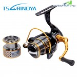TSURINOYA F2000 5:2:1 Gear Ratio Spinning Fishing Reel for Casting Lure Tackle Line