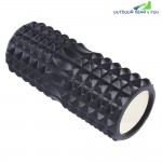 Gym Yoga Exercise Fitness EVA Foam Hollow Roller Physio Massage Equipment