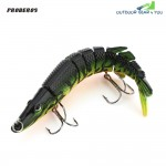 Proberos Outdoor Artificial 9 Sections Pike Fishing Lure