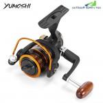 YUMOSHI 12 + 1BB Metal Fishing Reel with Foldable Handle