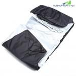 Nylon Waterproof Dustproof UV Protective Motorcycle Cover with Storage Bag