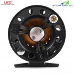 LEO FB75 Left Right Interchangeable Full Metal Fly Fish Reel Former Rafting Ice Fishing Wheel