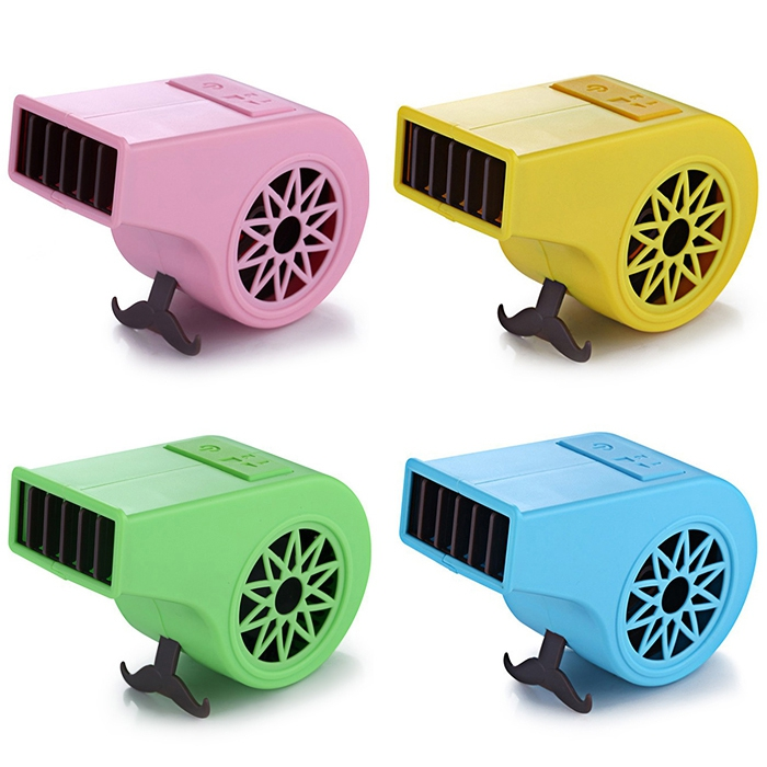 Whistle Shape Mini USB Charging 2 Modes Electric Air Fan