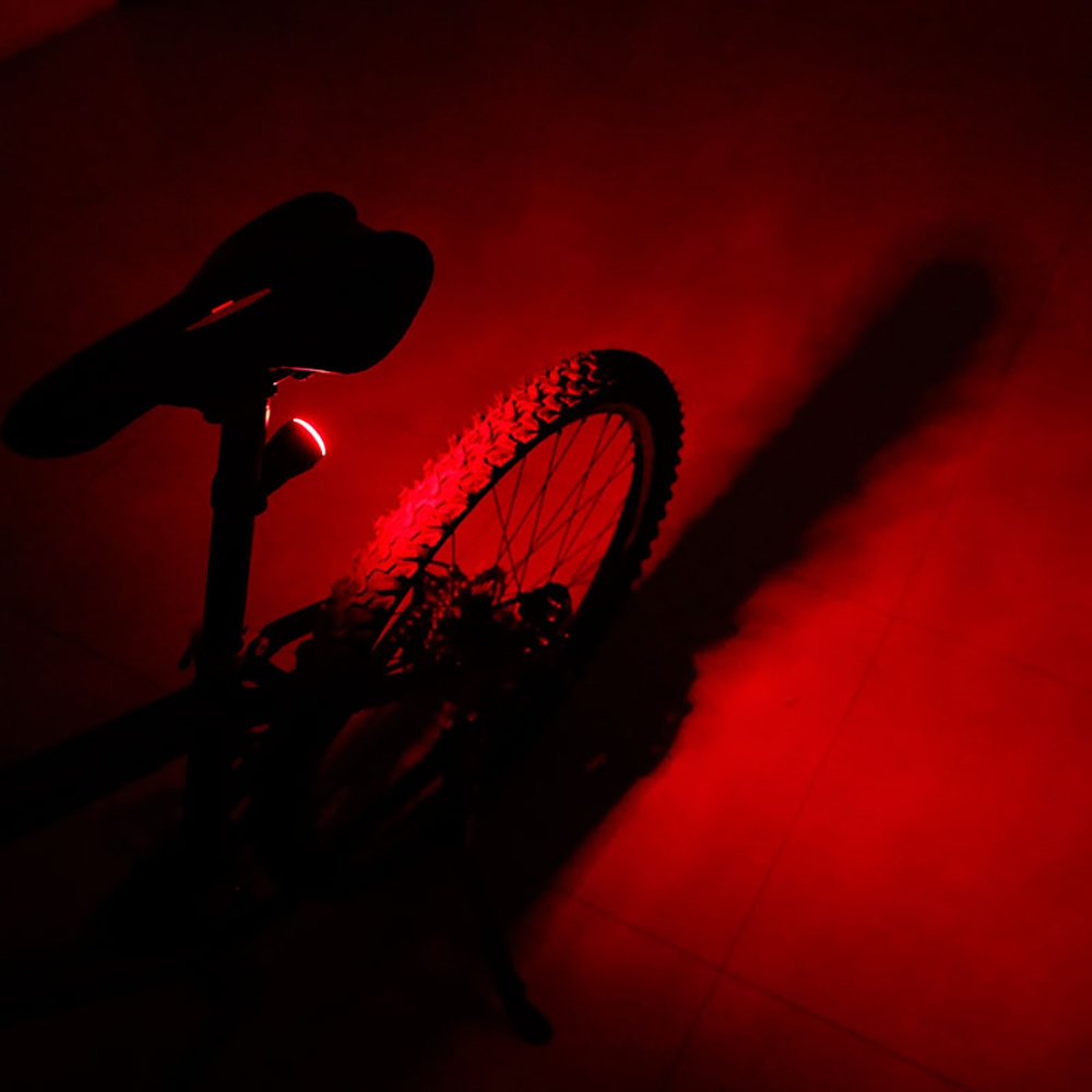 Deemount USB Rechargeable Bicycle Light LED Bike Taillight