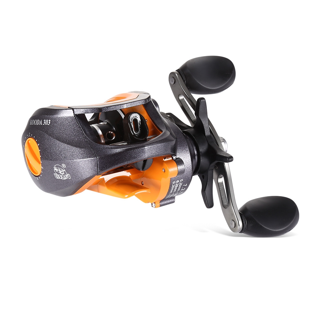 Lizard 7.2: 1 Magnetic Brake Baitcasting Reel Lightweight Alloy Wire Cup