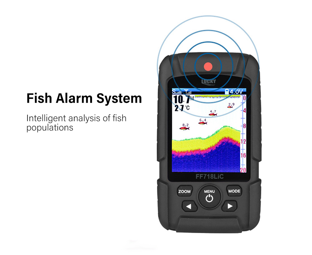 LUCKY FF718LiC - W Wireless Fish Finder Fishing Gear