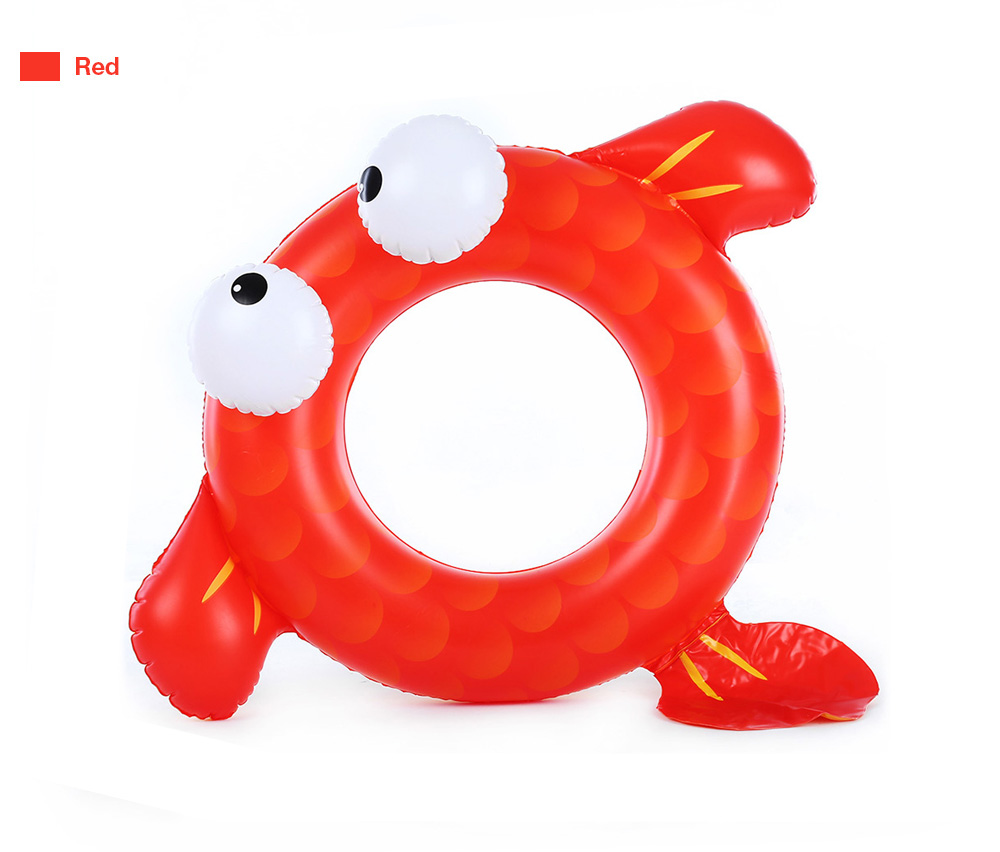 WINMAX Outdoor Goldfish Floating Ring Children Swimming Pool Seat Boat