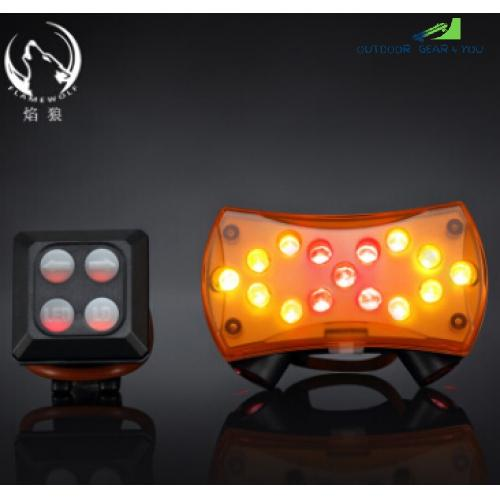 USB Rechargeable Wireless Control Bicycle Handlebar Lamp LED Front Light