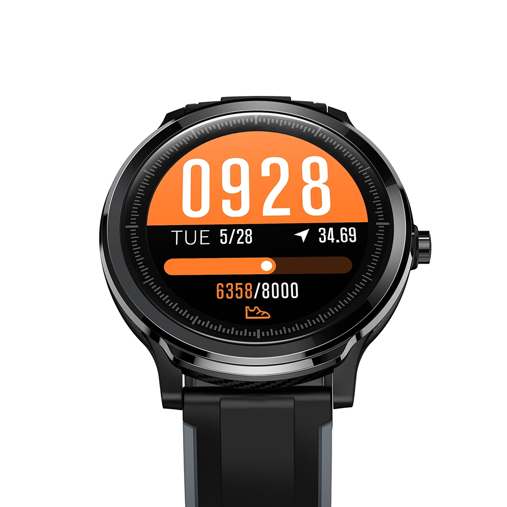Kospet Probe 1.3 inch Smart Sports Watch Fitness Tracker Health Monitor Bluetooth Smartwatch