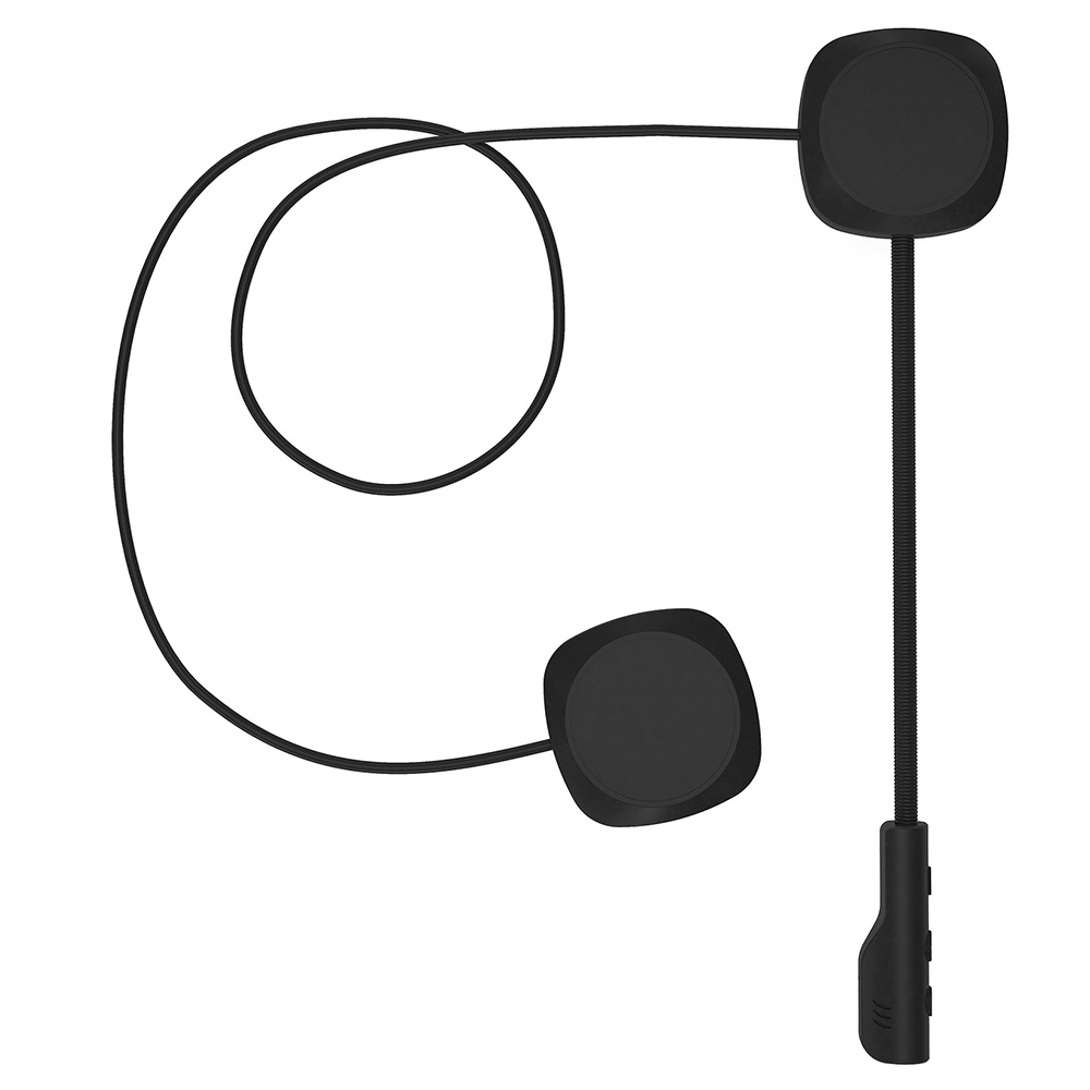 MH04 Motorcycle Helmet Headset Bluetooth 5.0 Headphone with Stereo Sound Long Standby Time for Full Half Helmet